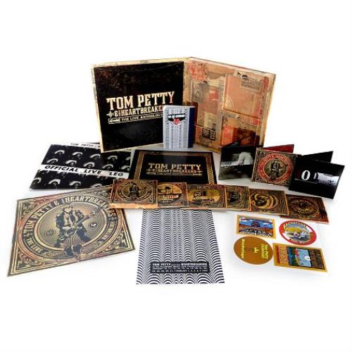 Tom Petty & The Heartbreakers The Live Anthology box set UK PETBXTH490690