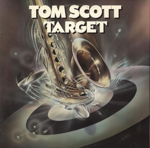 Tom Scott Target vinyl LP album (LP record) US S6TLPTA723539