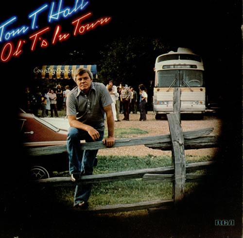 Tom T. Hall Ol' T's In Town vinyl LP album (LP record) US T2VLPOL450404