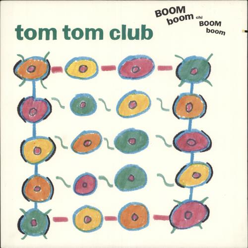 Tom Tom Club Boom Boom Chi Boom Boom vinyl LP album (LP record) US TTCLPBO743055