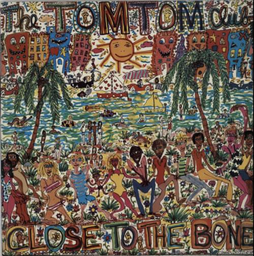 Tom Tom Club Close To The Bone vinyl LP album (LP record) UK TTCLPCL610430