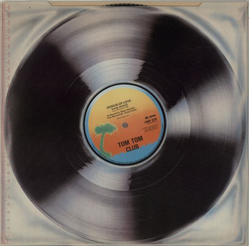 "Tom Tom Club Genius Of Love 12"" vinyl single (12 inch record / Maxi-single) UK TTC12GE687123"