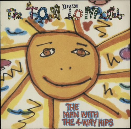 "Tom Tom Club The Man With The 4 Way Hips 12"" vinyl single (12 inch record / Maxi-single) UK TTC12TH50994"