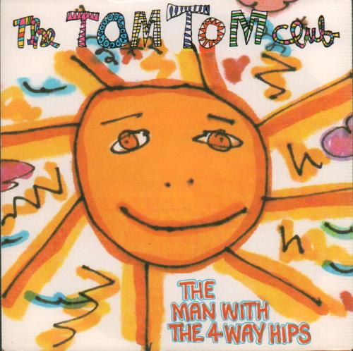 """Tom Tom Club The Man With The 4 Way Hips 7"""" vinyl single (7 inch record) UK TTC07TH646420"""