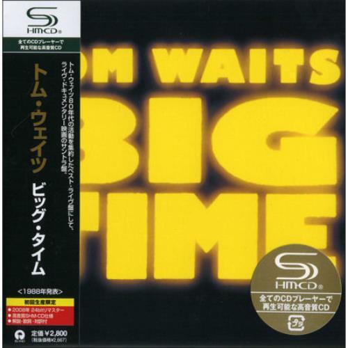 Tom Waits Big Time SHM CD Japanese TMWHMBI444779