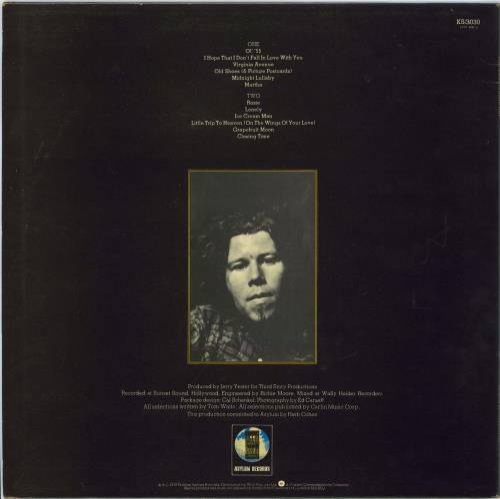 Tom Waits Closing Time vinyl LP album (LP record) UK TMWLPCL770436
