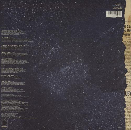 Tom Waits Heartattack And Vine - Barcoded vinyl LP album (LP record) German TMWLPHE758380