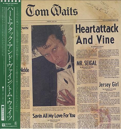 Tom Waits Heartattack And Vine Album