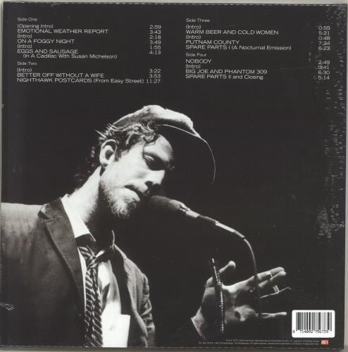 Tom Waits Nighthawks At The Diner - 180gram Red Vinyl - Sealed 2-LP vinyl record set (Double Album) UK TMW2LNI696259
