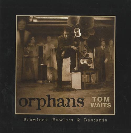 "Tom Waits Orphans CD single (CD5 / 5"") US TMWC5OR439562"