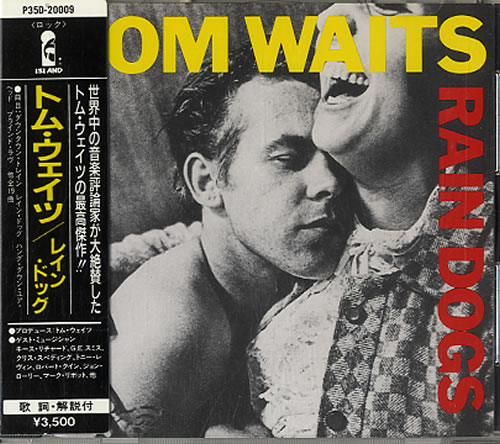 Tom Waits Rain Dogs CD album (CDLP) Japanese TMWCDRA157453