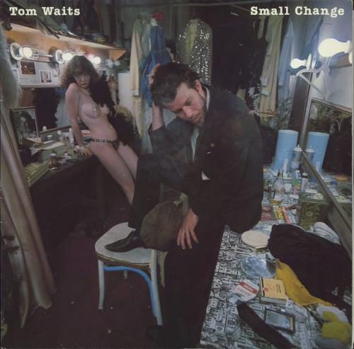 Tom Waits Small Change + inner - EX vinyl LP album (LP record) UK TMWLPSM774987