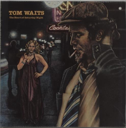 Tom Waits The Heart Of Saturday Night - Sealed vinyl LP album (LP record) US TMWLPTH659184
