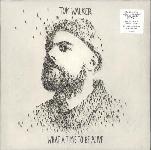 Tom Walker What A Time To Be Alive - Blue Vinyl - Sealed vinyl LP album (LP record) UK ZP7LPWH715865