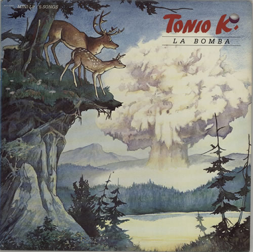 Tonio K La Bomba vinyl LP album (LP record) US U1TLPLA625118