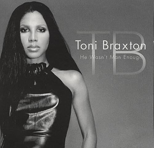 """Toni Braxton He Wasn't Man Enough CD single (CD5 / 5"""") US TBXC5HE154537"""