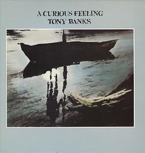 Tony Banks A Curious Feeling vinyl LP album (LP record) UK BNKLPAC186441