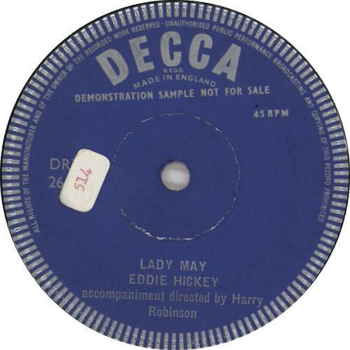 "Tony Bellus Robbin' The Cradle 7"" vinyl single (7 inch record) UK Y4N07RO708034"