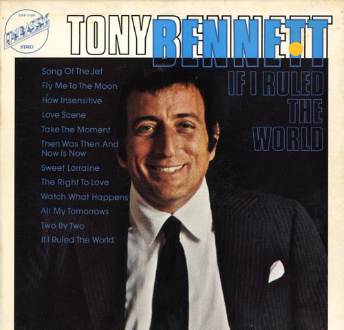 TONY BENNETT If I Ruled The World (1974 UK 12-track vinyl