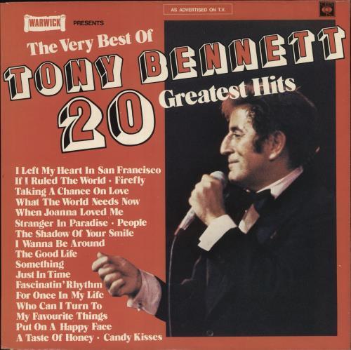 Tony Bennett The Very Best Of Tony Bennett vinyl LP album (LP record) UK ONYLPTH358044