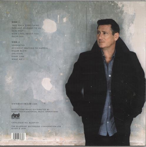 Tony Hadley Talking To The Moon vinyl LP album (LP record) UK TONLPTA698312