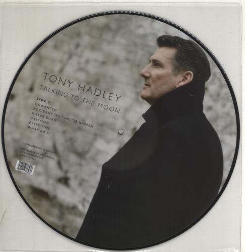 Tony Hadley Talking To The Moon picture disc LP (vinyl picture disc album) UK TONPDTA704201