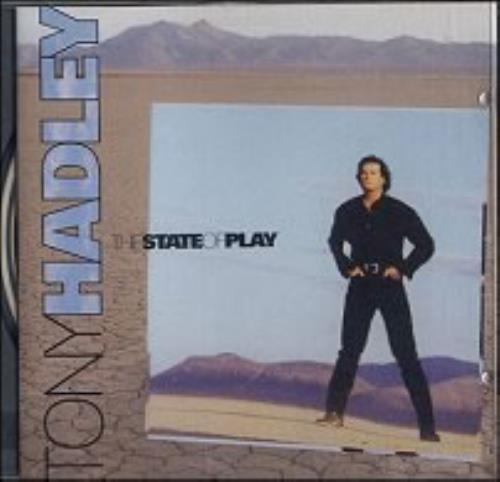 Tony Hadley The State Of Play - Withdrawn CD album (CDLP) UK TONCDTH31020