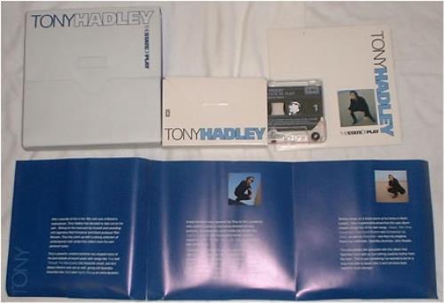 Tony Hadley The State Of Play CD Album Box Set UK TONDXTH180553