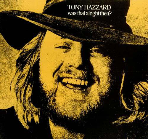 Tony Hazzard Was That Alright Then? vinyl LP album (LP record) UK TZZLPWA105204