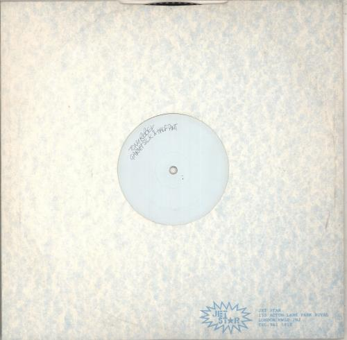 "Tony Rebel Jah Love Inna We - White Label 12"" vinyl single (12 inch record / Maxi-single) UK Y-X12JA712271"