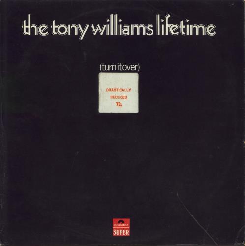 Tony Williams (Jazz) Turn It Over vinyl LP album (LP record) UK TNYLPTU563463