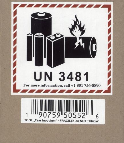 Tool Fear Inoculum - Deluxe Box - Sealed UK CD album (CDLP