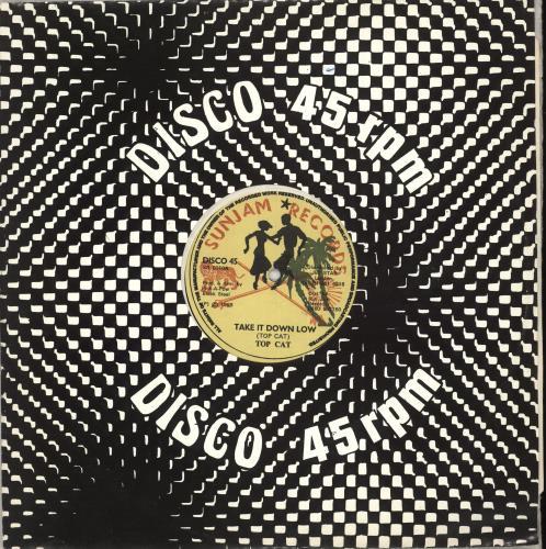 "Top Cat Take It Down Low 12"" vinyl single (12 inch record / Maxi-single) UK YZT12TA712273"