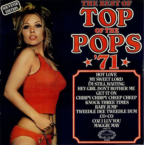 Top Of The Pops The Best Of Top Of The Pops 71 Uk Vinyl
