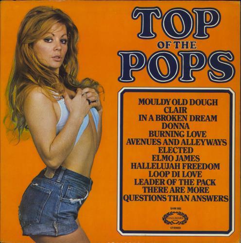Top Of The Pops Top Of The Pops Volume 27 Uk Vinyl Lp