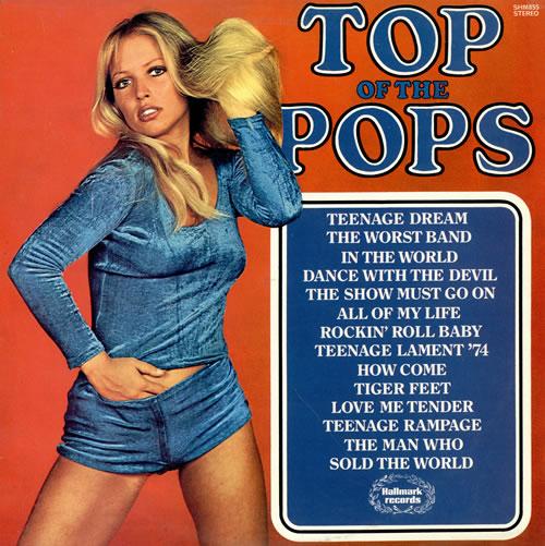 Top Of The Pops Top Of The Pops Volume 36 Uk Vinyl Lp