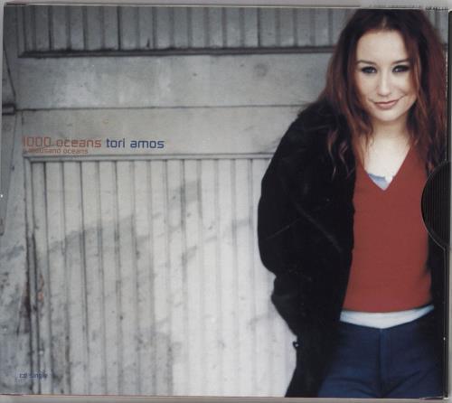 "Tori Amos 1000 Oceans - 2-track - Ecopak CD single (CD5 / 5"") US TORC5OC147275"