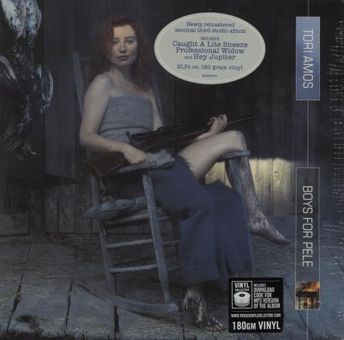 Tori Amos Boys For Pele - 180g - Sealed 2-LP vinyl record set (Double Album) UK TOR2LBO759274