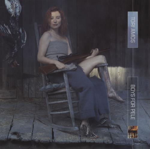Tori Amos Boys For Pele - Clear Vinyl - EX 2-LP vinyl record set (Double Album) US TOR2LBO753043