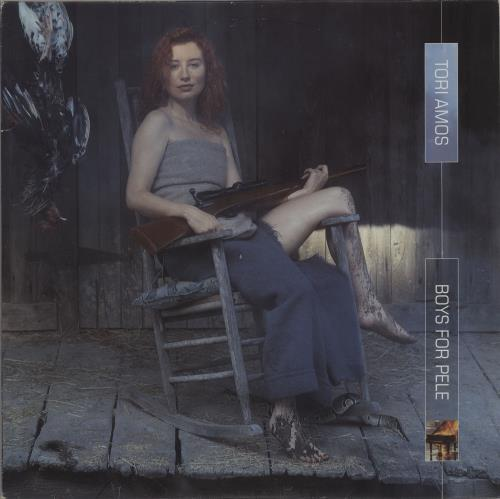 Tori Amos Boys From Pele - Clear vinyl - EX vinyl LP album (LP record) US TORLPBO515580