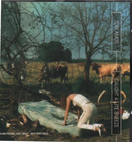 """Tori Amos Caught A Lite Sneeze CD single (CD5 / 5"""") UK TORC5CA58646"""