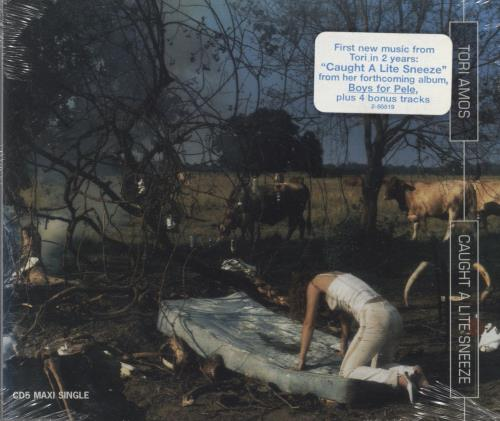 "Tori Amos Caught A Lite Sneeze CD single (CD5 / 5"") US TORC5CA59226"