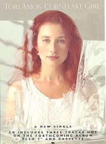 Tori Amos Cornflake Girl display UK TORDICO25126