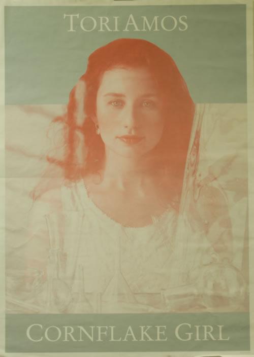 Tori Amos Cornflake Girl poster UK TORPOCO617977
