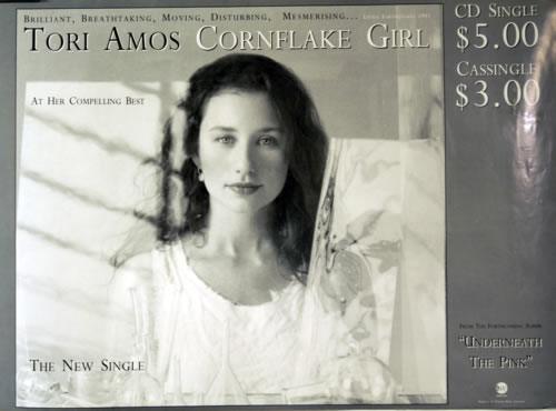 Tori Amos Cornflake Girl poster Australian TORPOCO618852