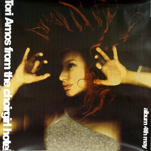 Tori Amos From The Choirgirl Hotel poster UK TORPOFR111477