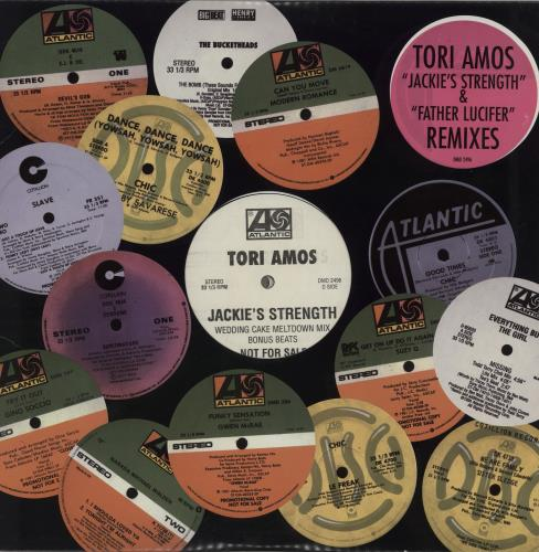 "Tori Amos Jackie's Strength - Double Pack 12"" vinyl single (12 inch record / Maxi-single) US TOR12JA133343"