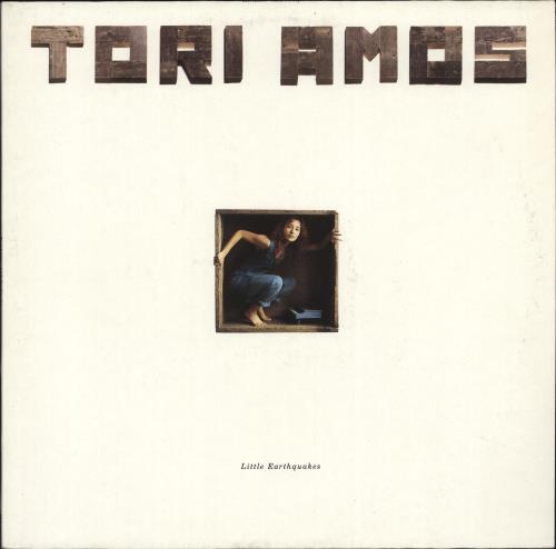 Tori Amos Little Earthquakes - EX vinyl LP album (LP record) German TORLPLI703107