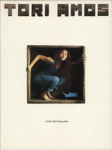 Tori Amos Little Earthquakes book US TORBKLI269037