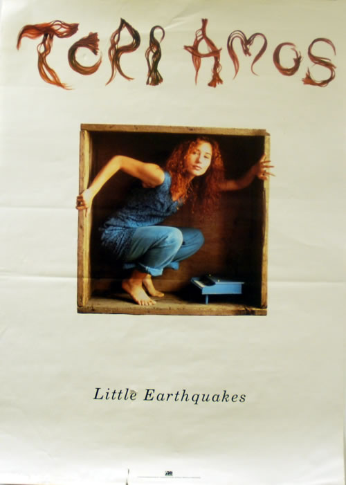 Tori Amos Little Earthquakes poster US TORPOLI38516